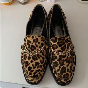 Dolce Vita Gilian Leopard-Print Loafers